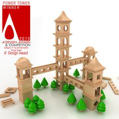 Power Tower Wooden Toy