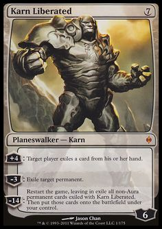Karn, as a planeswalker, created the plane of Argentum and the artifact wizard Memnarch, who later modified and renamed the plane into…