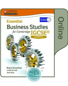 A Level Business Studies Book For