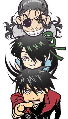 Nobunaga, Toyohisa y Yoichi