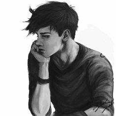 anime boy with black hair drawing anime collection - black boy drawing Fantasy Characters, Anime Characters, Fictional Characters, Character Inspiration, Character Art, Art Sketches, Art Drawings, Black Hair Boy, Creation Art