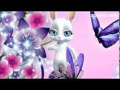 Guten Morgen - ich schicke euch Schmetterlinge, Sonnenschein, Freiheit und Blume, Zoobe