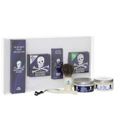The Perfect Bluebeards Revenge gift! Features a host of unique, The Bluebeards Revenge branded products at a bargain price. Beautifully presented in an eye-catching gift box. The set comprises one tub of their world famous The B Wet Shaving, Shaving Cream, Shaving Kits, Shaving Products, Straight Razor Shaving Kit, Safety Razor, Cute Wedding Ideas, Mens Gift Sets, Revenge