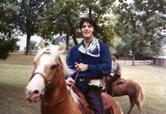 Elvis and his horse, Rising Sun ❤️