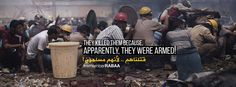 THEY KILLED THEM BECAUSE , APPARENTLY THEY WERE ARMED !! قتلوهم .. لأنهم مسلحون #Rabaa_Today | #Egypt | #RememberRABAA ||