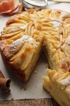 torta di mele: no burro ma olio
