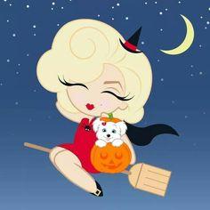 Happy Halloween! Mini Marilyn