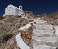 Most beautiful places to travel - Cyclades, Greece Beautiful Places To Travel, Mount Everest, Mount Rushmore, Travel Destinations, Greece, Most Beautiful, Adventure, Mountains, Nature