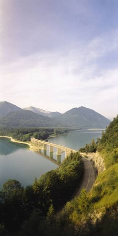 Sylvenstein Bridge   Bavaria, Germany