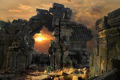 Sunrise at Preah Khan Temple
