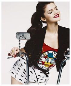 Selena Gomez hot girls celebrities female celebs music disney bike