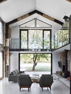 From mod-minimal spaces to dreamy converted barns, be inspired by these airy spaces that make the most natural light.                               View the Original Post / Follow Desire To...