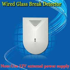 Free Shipping!Glass Break Detector For GSM Phone SMS Alarm System Office/Store/House Door Window Glass Security GT-456