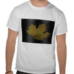 Lonely Maple Leaf Men's Tees
