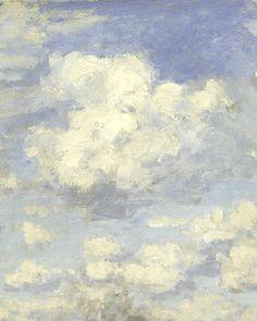 Aesthetic Painting, Aesthetic Art, Monet Wallpaper, Monet Paintings, Sky Painting, Guache, Classic Paintings, Sky Art, Impressionism Art