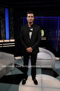 Randeep Hooda on The Front Row.
