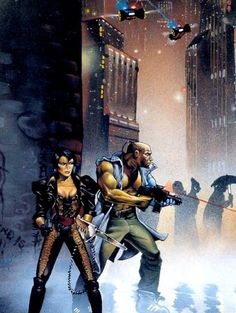 1990s Cyberpunk-2020 Night City Stories cover art