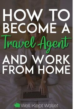 How to Become a Travel Agent (and Work From Home) - Finance tips, saving money, budgeting planner Earn Money From Home, Make Money Fast, Earn Money Online, Online Jobs, Travel Agent Jobs, Become A Travel Agent, Travel Agency, Extra Money, Extra Cash