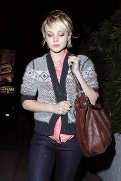 Carey Mulligan -she's cute even when she's not put together. Good for Grace.
