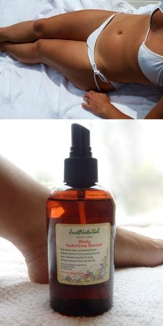 Body Nutritive Serum. Makes the skin looks smooth and tan//ceciliacarroharvey.org