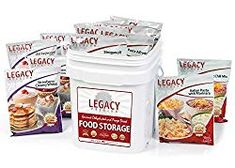 Survival Food Storage 60 Large Servings Freeze Dried Meal Assortment 18 Lbs Emergency Preparedness Supply Kit Dehydrated Breakfast Lunch Dinner Camping Hiking Too >>> You can find out more details at the link of the image. (This is an affiliate link) Best Emergency Food, Emergency Food Storage, Dry Food Storage, Emergency Food Supply, Freeze Drying Food, Dehydrated Food, Dinner Entrees, Survival Food, Survival Supplies