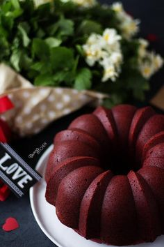 A sort of & # red love cake & # I said I fell in love with him . :] He made me! First with its color and texture and taste. A sort of & # red love cake & # I said I fell in love with him . :] He made me! First with its color and texture and taste. Red Velvet Bundt Cake, Love Cake, Kefir, Chocolate Cake, Cupcake Cakes, Cupcakes, Falling In Love, Cake Recipes, Food And Drink