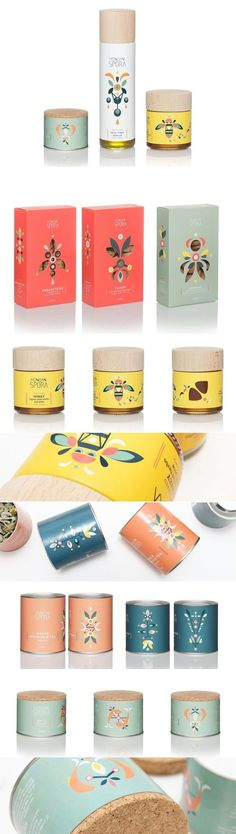 Minoan Spora Healthy Foods Packaging by Lazy Snail Design | Fivestar Branding Agency – Design and Branding Agency & Curated Inspiration Gallery #healthyfoodpackaging #packaging #foodpackaging #packagingdesign #packagedesign #design #designinspiration