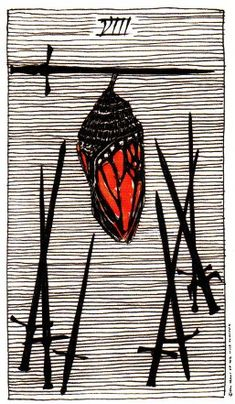 8 swords - Wild Unknown Tarot