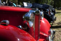 Red Car at the All British Car Show by Christopher Elliott, via Flickr