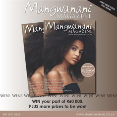 You could win one of three R20 000.00 worth of prizes. All you need to do is post your best Mangwanani photo on either Facebook or Instagram and tag us, and don't forget to add a fun tag line!  Winners will be announced end of July.  Enter now! Yoga Benefits, Whats New, Competition, Forget, Magazine, Facebook, Fun, Instagram, Magazines