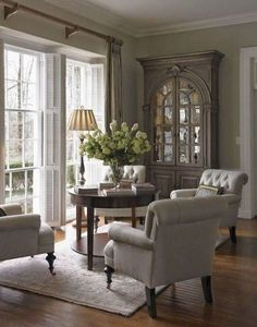 Inspirational living room decorating ideas french country look you' Country Look, French Country Rug, Country Style Homes, Country Decor, Farmhouse Decor, French Style, Modern Farmhouse, French Decor, Modern Country