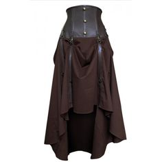leather corset brown - Яндекс.Картинки #yandeximages ❤ liked on Polyvore featuring skirts, steampunk, bottoms and corsets