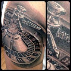 Thomas Pollard Roulette Tattoo