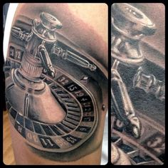 Thomas Pollard Roulette Tattoo