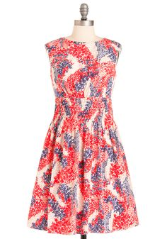 Modcloth - All About Elegance Dress in Dogwood (by Jessica Simpson)