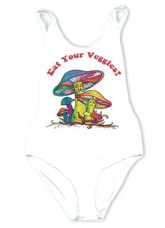 EAT Your Veggies! Our Old Fav ina New Style White Bodysuit. One Size! ** All items are one of a kind and hand made. They may vary in elements, or garments. Festival Gear, Music Festival Outfits, Rave Festival, Festival Looks, Festival Fashion, Festival Makeup, Music Festivals, Raves, Rave Outfits