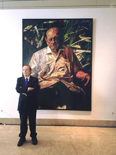 Happy to announce we're getting a portrait of Puerto Rican Governor Luis Muñoz Marín by Francisco Rodón #PuertoRico
