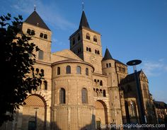 Trier Cathedral in Mosel in Germany