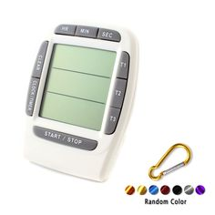 Ps-370 Three-Channel Electronic Timer Countdown Lab Multifunction Gy +Buckle