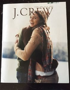 RARE J Crew Catalog Style Guide Fall 2002 Hard to Find | eBay
