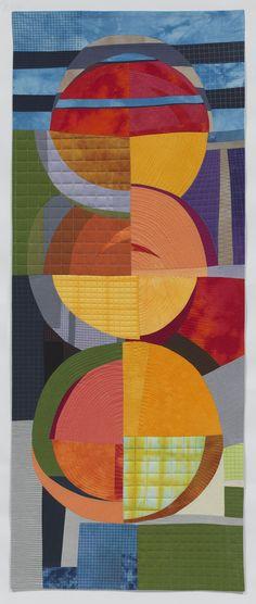 "SPP 12, 69 x 28"", by Karen Schulz   SAQA"