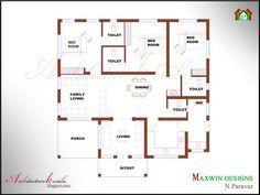 3 Bedroom Latest Home Plan With Modular Kitchen 2018 Floor Plan Of