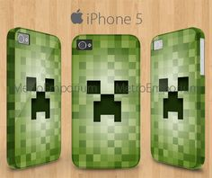 Minecraft Creeper 3D iPhone 5 Case