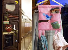 Back to School: Felt Locker Caddy