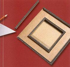 Tutoriel Fabriquer un petit cadre oriental en carton (Créations en carton…