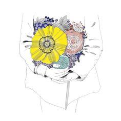 Sophie Truant Illustration éditée par L'illustre Boutique...