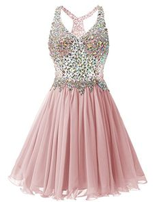 Bridesmay Short Chiffon Prom Homecoming Dress Beading Bri... https://www.amazon.com/dp/B01JLXRPVS/ref=cm_sw_r_pi_dp_x_DUTOybNG4RZZK