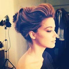 This hair. Elegant, classy <3