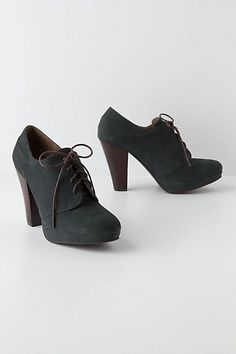 Tuva Platform Oxfords - Anthropologie