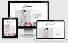 Gracious Blogger Templates by Yo..! Templates on @creativemarket